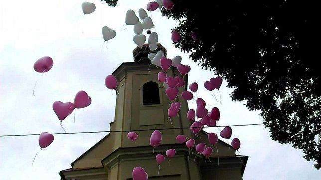 Pudło balony ślub hel wypuszczanie urodziny prezent Jaworzno