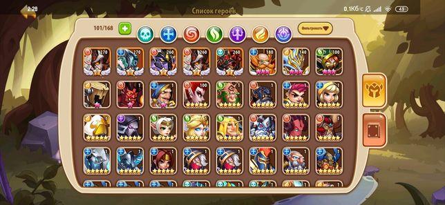 Аккаунт idle heroes