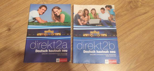 Podręcznik z ćwiczeniami do języka niemieckiego Direkt Deutscj hautnah