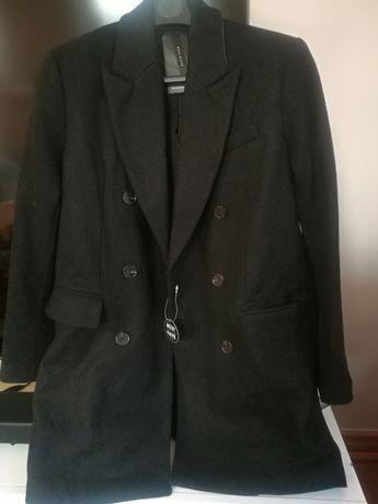 Nowy wełniany płaszczyk męski Reserved rozmiar S