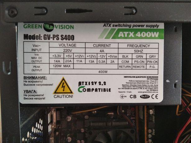 Bp 400w от извесной компании ATX