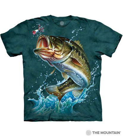 Футболки The Mountain - Рыбы - Рыбалка. Оригинал из США. 2XL и 3XL.