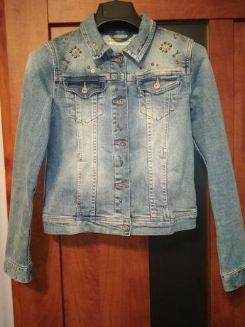 Фирменный джинсовый пиджак