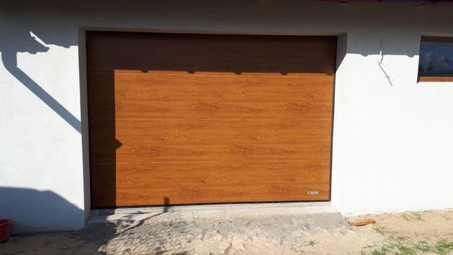 Brama Segmentowa 2500x2250 Złoty Dąb Bełchatów