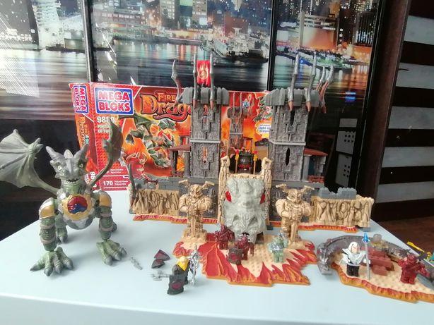 Конструктор Mega Bloks dragons драконы набор 9889