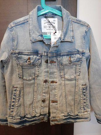 Kurtka jeans 128