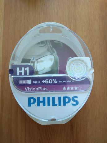 Zestaw żarówek samochodowych H1 Philips Vision Plus