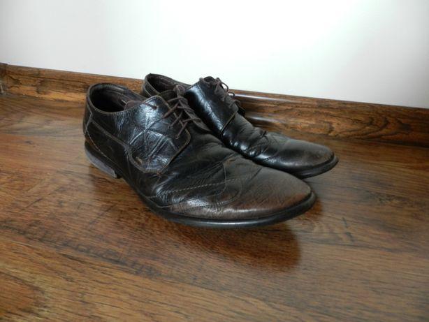 Skórzane buty męskie Lasocki