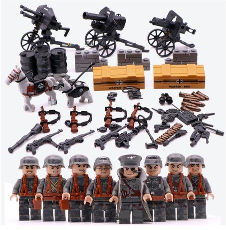 #051 Элитные Немецкие Войска, World War II, конструктор (Лего/Lego)