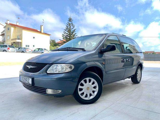 Chrysler Voyager LX 2.5CRD 7Lug GPS c/garantia - 83€ p/mês