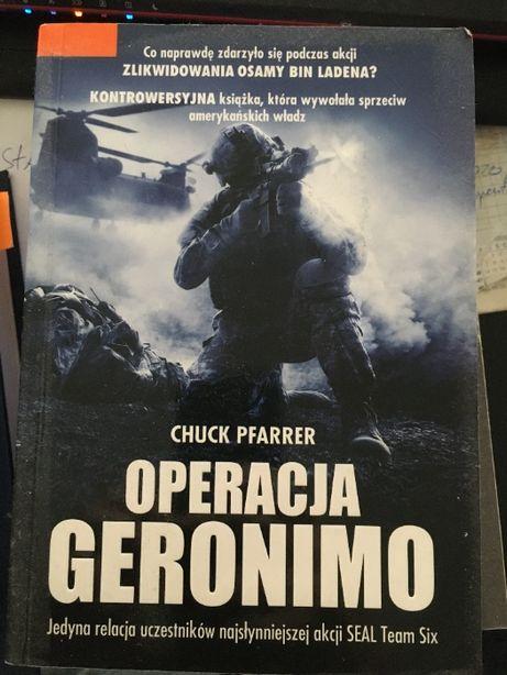 Operacja Geronimo - Chuck Pfarrer