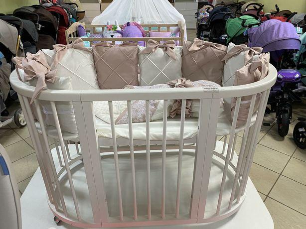 Постельные наборы в кроватку.