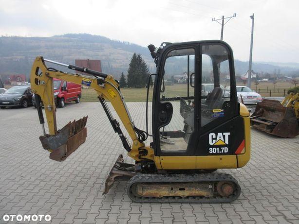 Caterpillar 301.7d  Cat _ 2tony _ rozsuwane gąsienice _