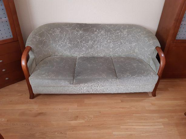 Zestaw wypoczynkowy sofa + 2 fotele
