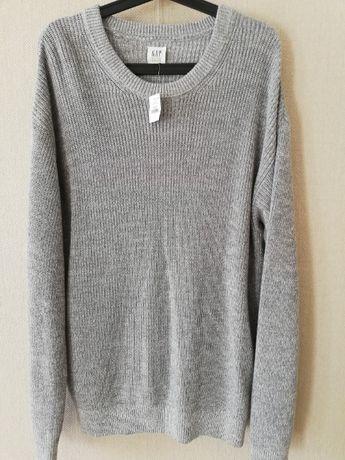 GAP - szary sweter, NOWY! z metką
