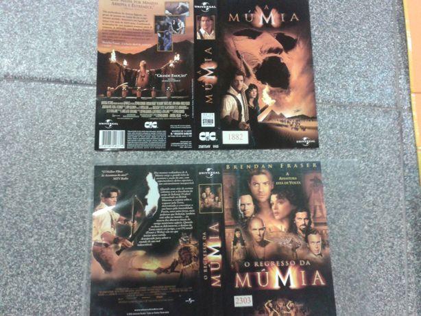 Lote de 50 Filmes em VHS - Originais