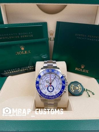 Rolex Yacht Master ll Branco Ref 116680