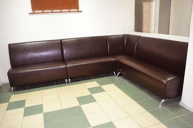 Угловые диваны для кафе, офиса, приемной. Офисный диван для ожидания