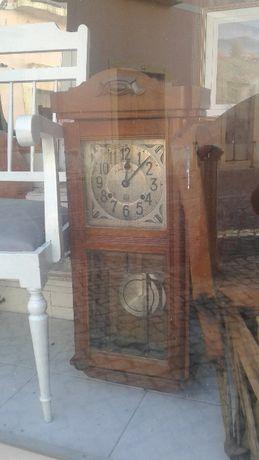 Antiguidade Relógio de Parede Marca da Fábrica