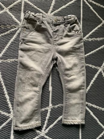 Spodnie jeansowe jeansy Reserved Kids 86