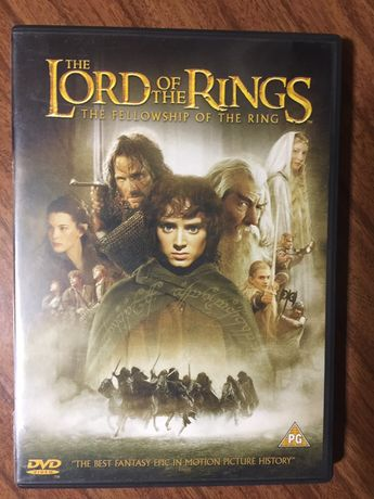 DVD Lord of The Rings - The brotherhood of The ring - 2 DVD