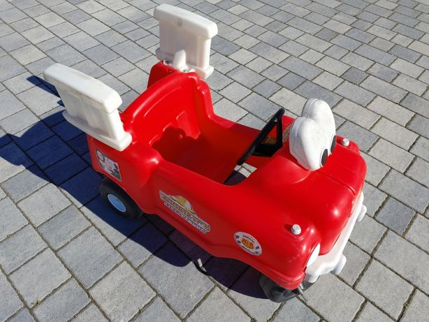Little Tikes jeździk autko straż pożarna auto wóz strażacki