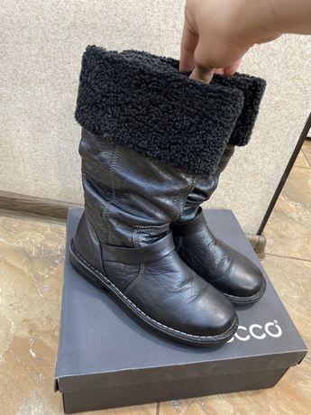 Продам зимові жіночі чоботи ecco