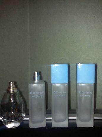 Флаконы бутылочки бутылки пустые из-под парфюмов духов La Rive