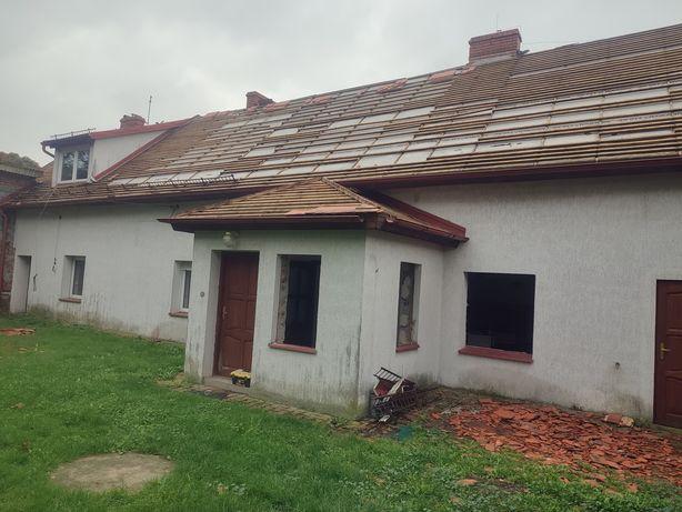 Dom z cegły do rozbiórki