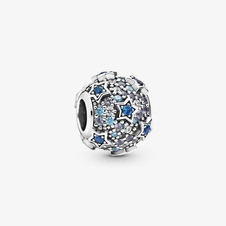 Charms Odległe Gwiazdy do Pandora Srebro 925 wybite na charmsie