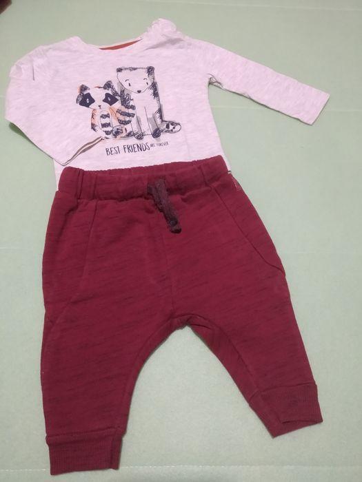 Calças Zara e Sweat Primark 3/6m, 68cm São Pedro - imagem 1