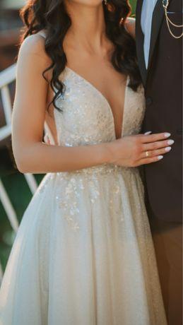 Suknia Ślubna Milla Nova Marianna Silver 36 S