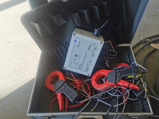 Rejestrator napięcia prądów i mocy