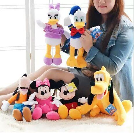 Мягкие игрушки герои Диснея, Поночка, Гуфи, Плуто, Disney, новый