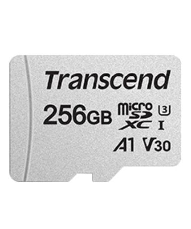 Карта пам'яті Transcend microSDXC 256GB C10 UHS-I + SD-адаптер