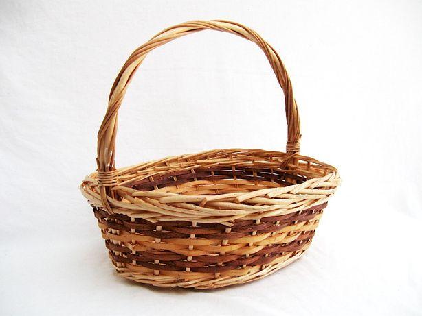 ~* koszyk wiklinowy na grzyby owoce *~