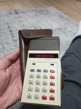 Zabytkowy kanadyjski kalkulator ez3500, działa