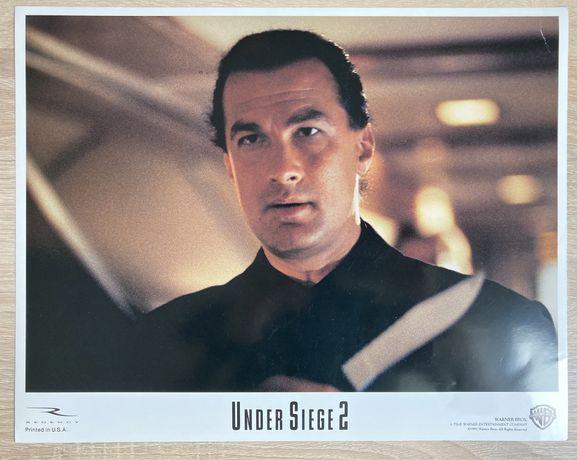Under Siege 2 - Seagal - karta promocyjna- kadr kinowy
