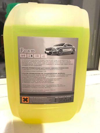 Активная пена бесконтактная - для чистки кузова автомобиля