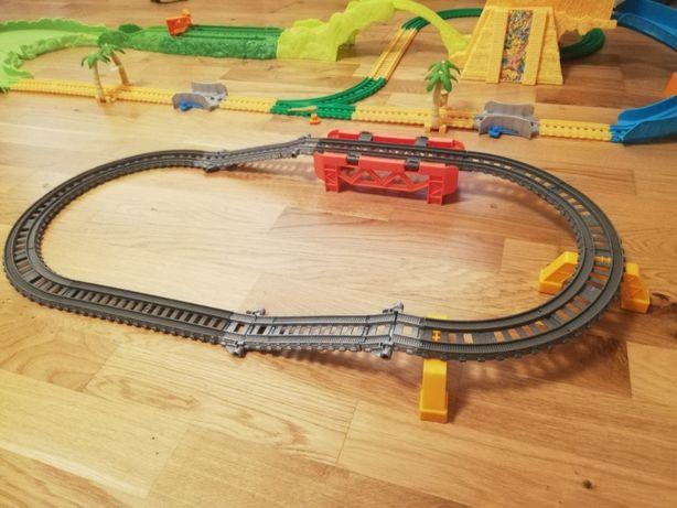 Tomek i Przyjaciele 10 pociągów na baterie i tory 34 szt. TrackMaster