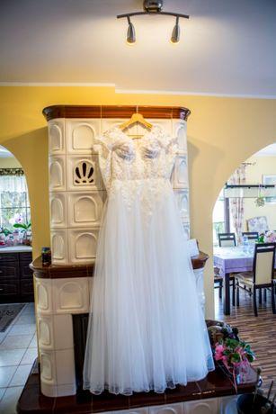 Suknia ślubna Patrycja Pardyka + welon