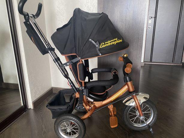 Трехколесный велосипед Azimut Trike AIR BC 17 (с надувными колёсами на