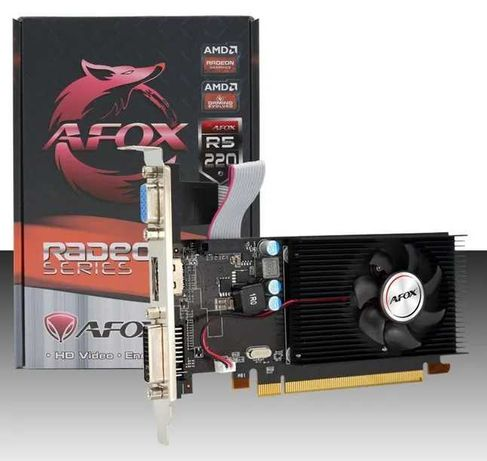 AFOX RADEON R5 220 2GB DDR3 Dvi Hdmi Vga używana