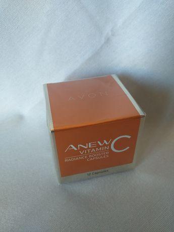 Avon Odmładzające kapsułki do twarzy ze skoncentrowaną 20% witaminą C