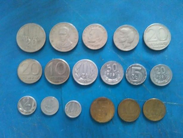 Super zestaw monet z PRL-u 17 sztuk każdy inny-posiadam 3 zestawy