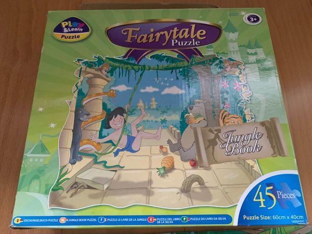 Conjunto 2 Puzzles infantis