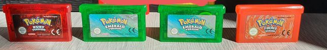 Pokémon Emerald, Ruby, FireRed, Red, Yellow
