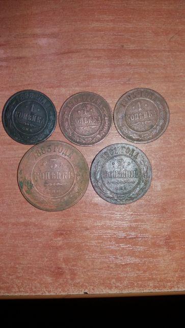 Монеты правления Николая 2