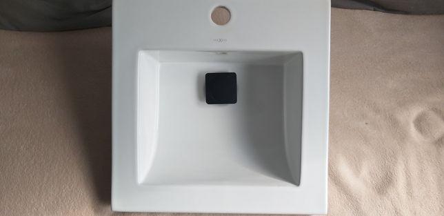 Umywalka + korek klikklak+syfon przyścienny