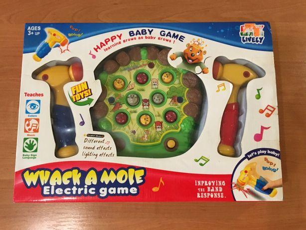 Игрушка настольная развивающая Whack a Mole